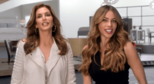 Sofía Vergara 'pone nerviosa' a Cindy Crawford (video)