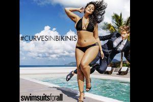 "Ashley Graham impone sus ""curvas"" en Sports Illustrated"