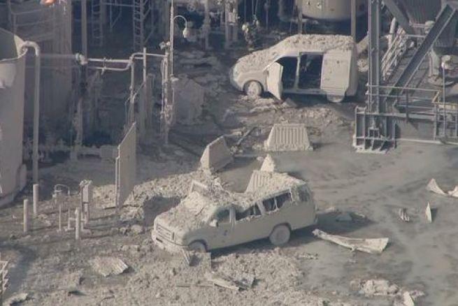 La explosión del miércoles mandó una lluvia de cenizas a los alrededores de la refinería de ExxonMobil en Torrance.