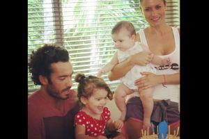 Así celebraron Aarón Díaz y Lola Ponce el cumpleaños su hija