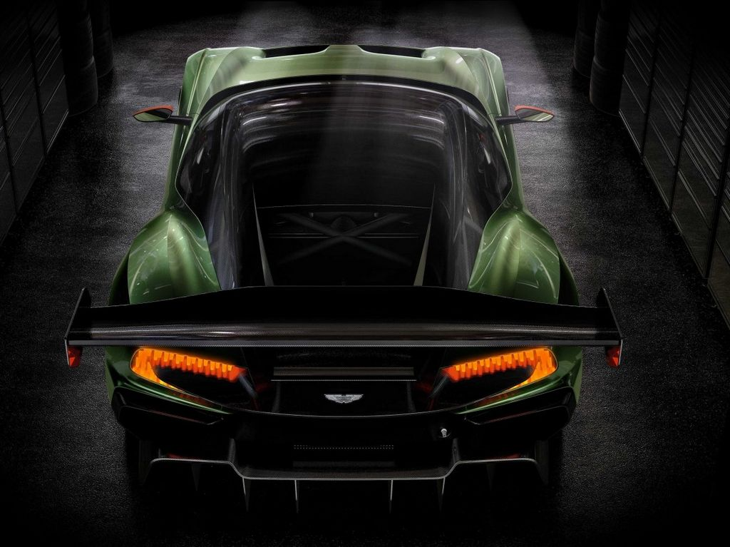 Aston Martin mostrará el V12 Vulcan, con 800hp que cuesta más de $2 millones.
