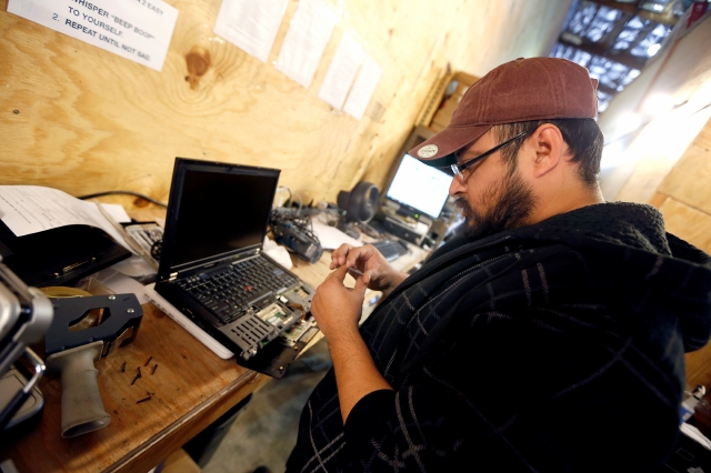Residuos electrónicos dan  oportunidades a exconvictos