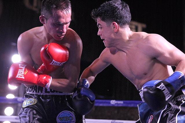 'Jo Jo' Diaz Jr. acabó con Juan Luis Hernández en tres rounds