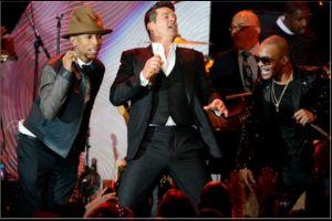 Pharrell y Robin Thicke deben pagar por plagio de 'Blurred Lines'