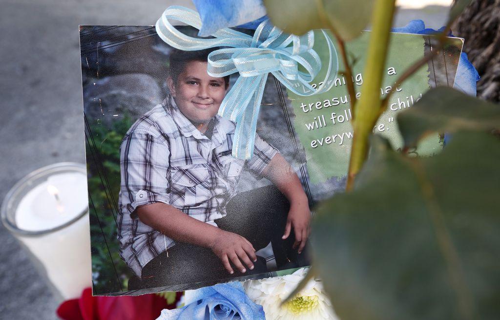 Chris Rodríguez, de apenas 13 años, falleció la noche del lunes tras ser atropellado en Boyle Heights.