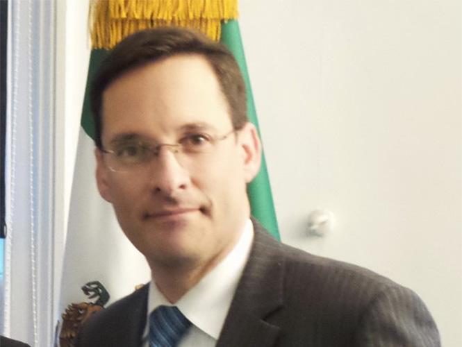 Alejandro Estivill, embajador interino de México en EEUU