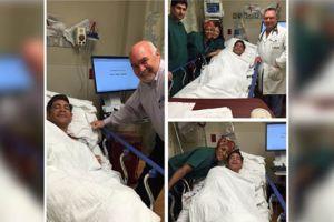 El conductor Johnny Lozada fue a parar al hospital
