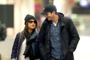Mila Kunis confirmó haberse casado con Ashton Kutcher
