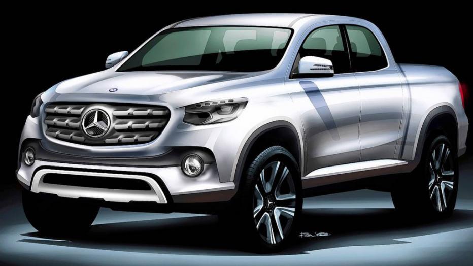 Mercedes venderá una nueva pick up