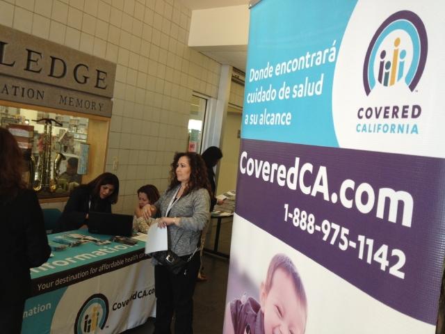 Se ha registrado un aumento del número de personas que se registran con Covered California en las últimas 48 horas.