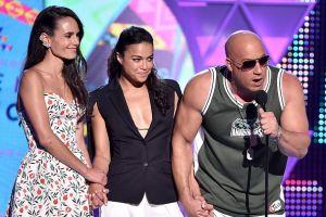 Vin Diesel rindió tributo a Paul Walker en los Teen Choice Awards