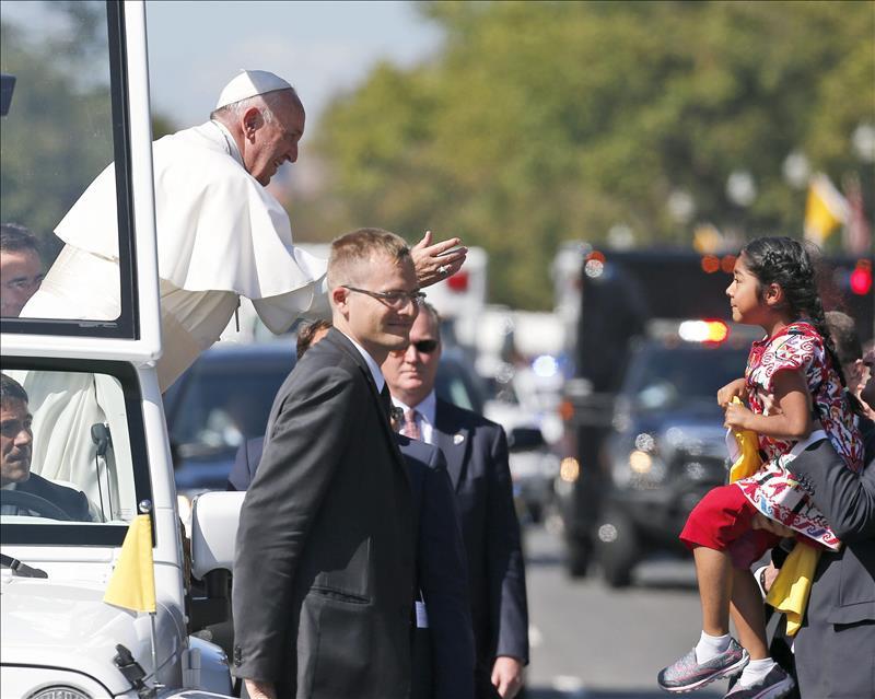 """Mensaje de Sophie al Papa: """"Todos los niños son importantes"""""""