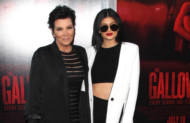 Kris Jenner se enfadó con Kylie por inyectarse los labios