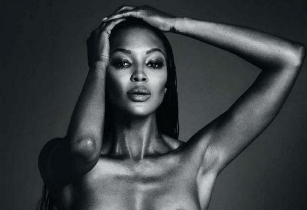 Naomi Campbell se desnudó en Instagram y fue censurada