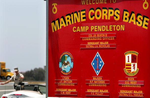 La base Camp Pendleton Marine Corps está ubicada en Oceanside, California.