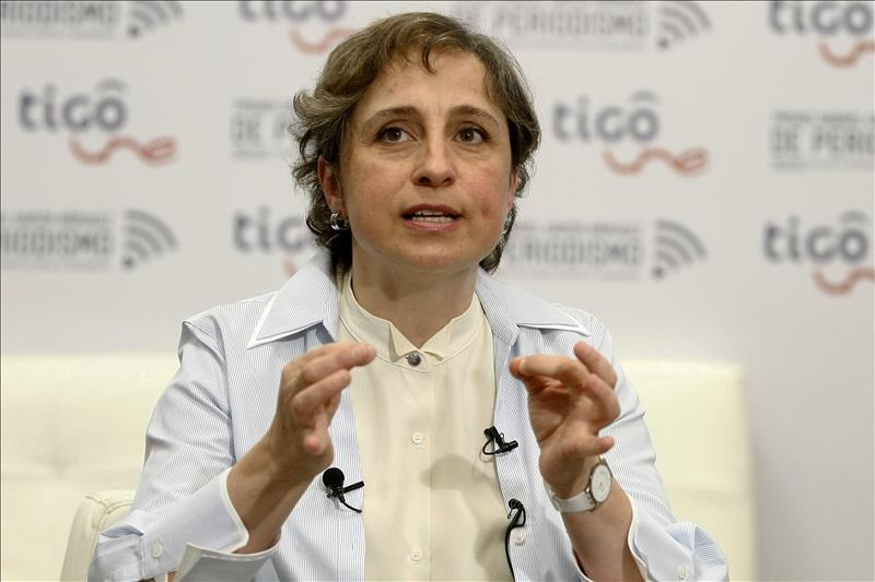 """MVS demanda a Carmen Aristegui pero no por la """"Casa Blanca"""""""