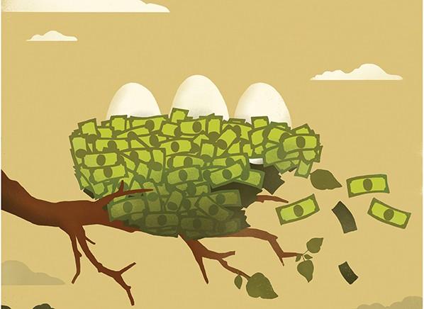 cuidar dinero