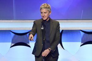 El disparatado e inspirador discurso de Ellen DeGeneres en los Golden Globes