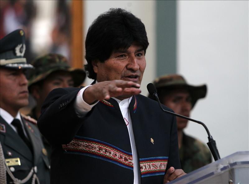 EEUU investiga por narcotráfico a círculo de Evo Morales, dice informante DEA