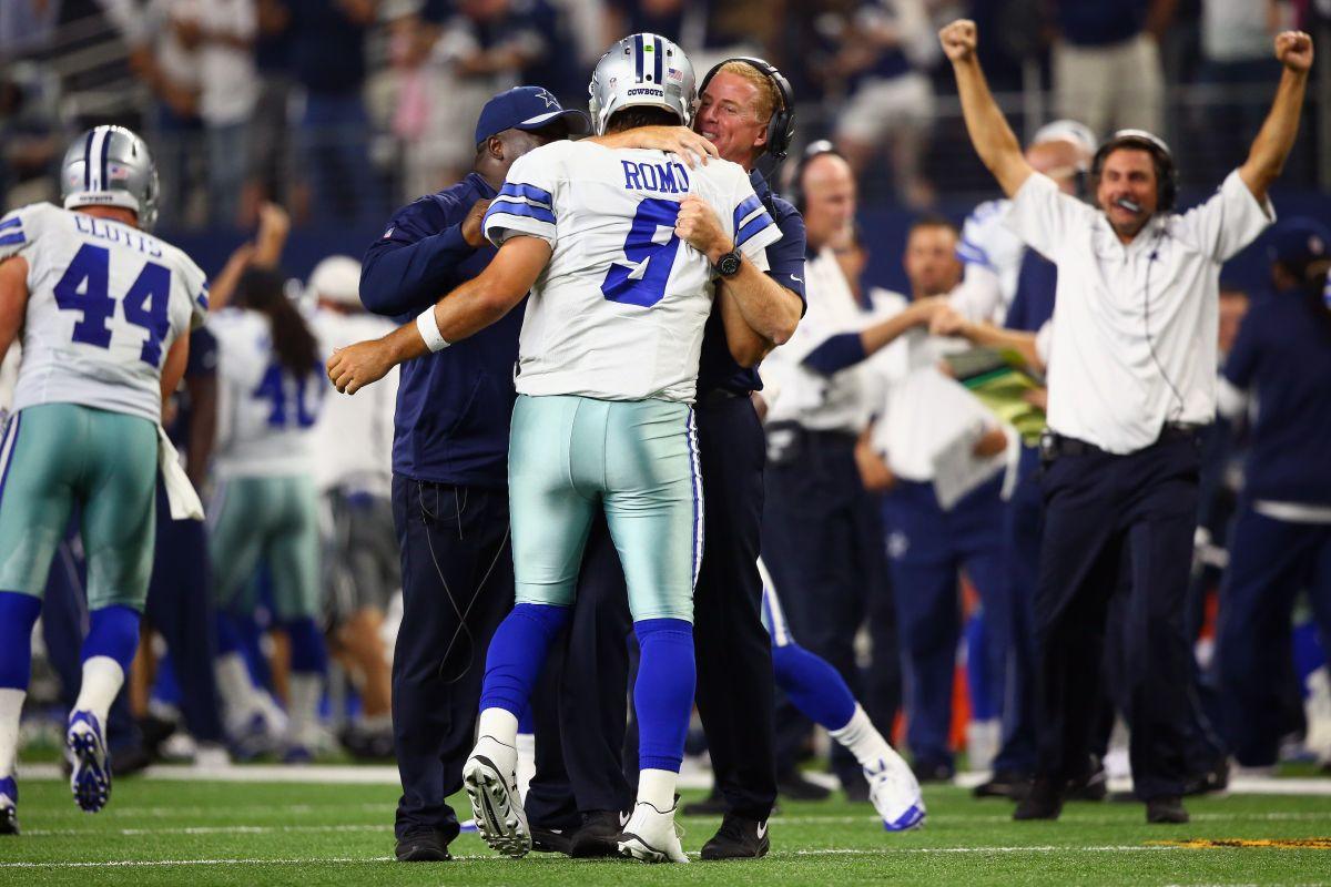 Un pase de Romo que les rompe el corazón a los Giants