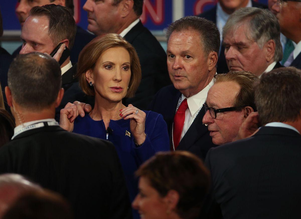 Carly Fiorina, la mujer que le robó el show a Donald Trump en el debate republicano