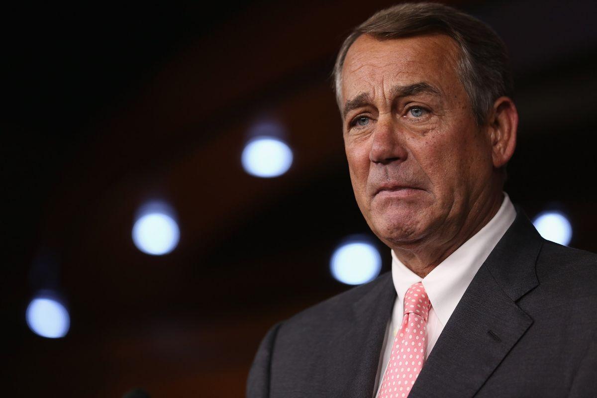 Los republicanos buscan el reemplazo para John Boehner en el Congreso.