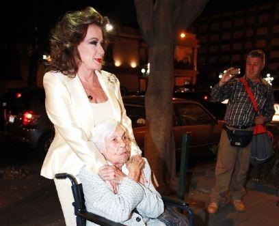 Laura Zapata aclaró las declaraciones de Thalía sobre la salud de su abuela