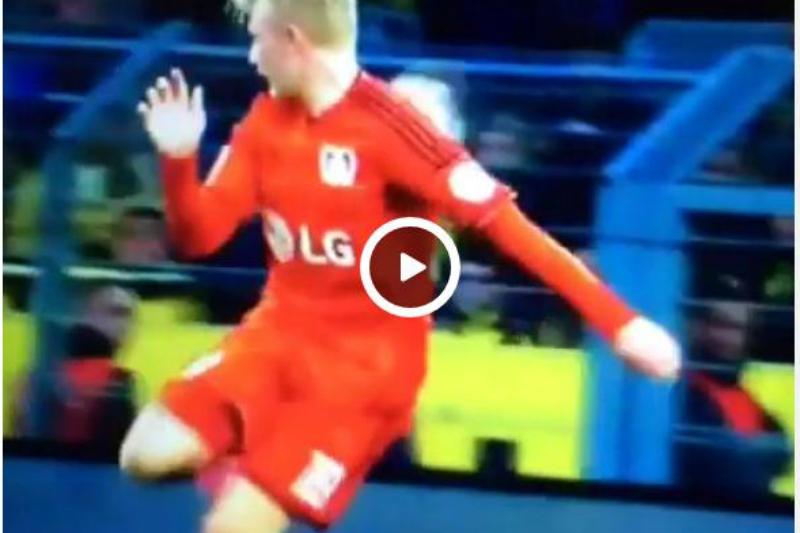 Julian Brandt pudo hacer un golazo de antología (VIDEO)