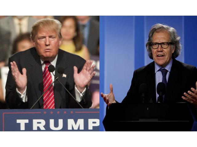 """Secretario de la OEA pide obviar """"imbecilidades"""" de Trump, insta a luchar por derechos humanos"""
