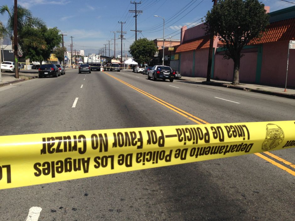 Sur Los Ángeles: asesinatos son el pan de cada día