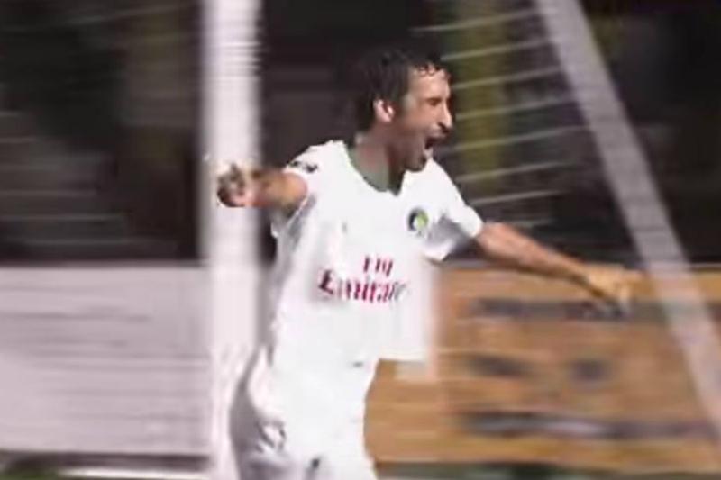 El golazo del incombustible Raúl para el triunfo del Cosmos (VIDEO)