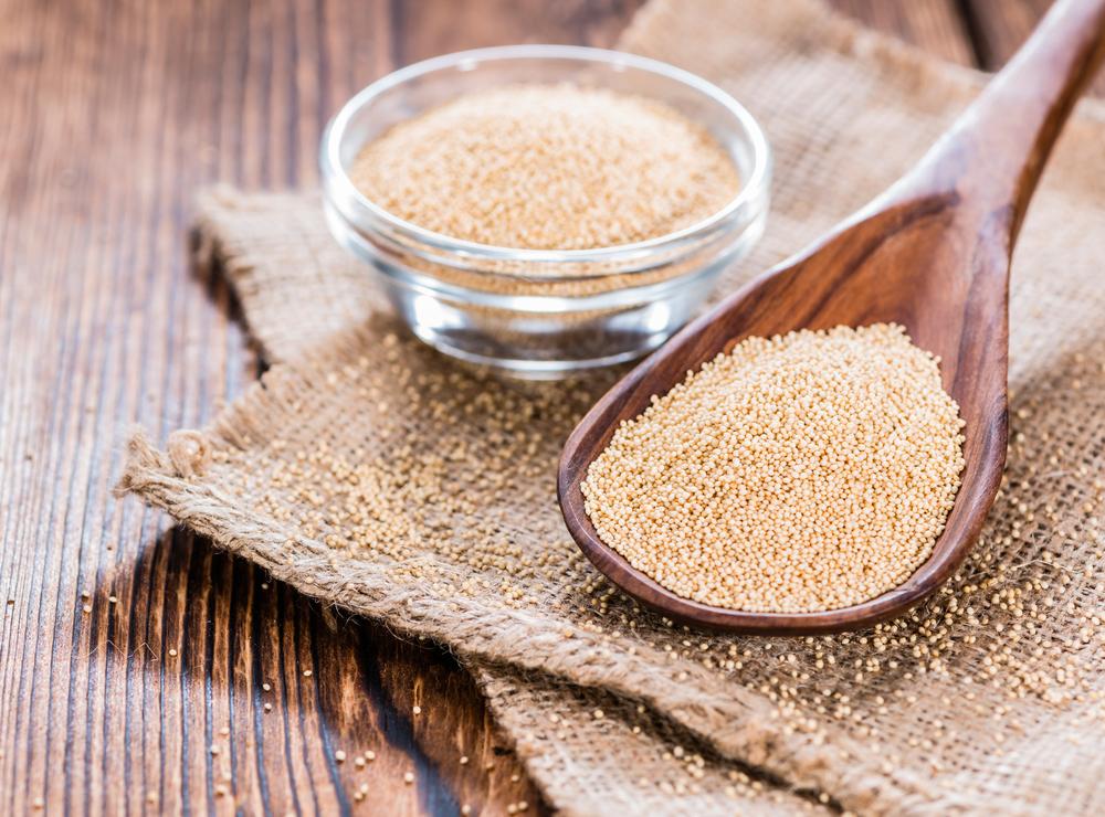 El amaranto es una extraordinaria fuente de proteínas vegetales, que brindan nutrición completa para el organismo.