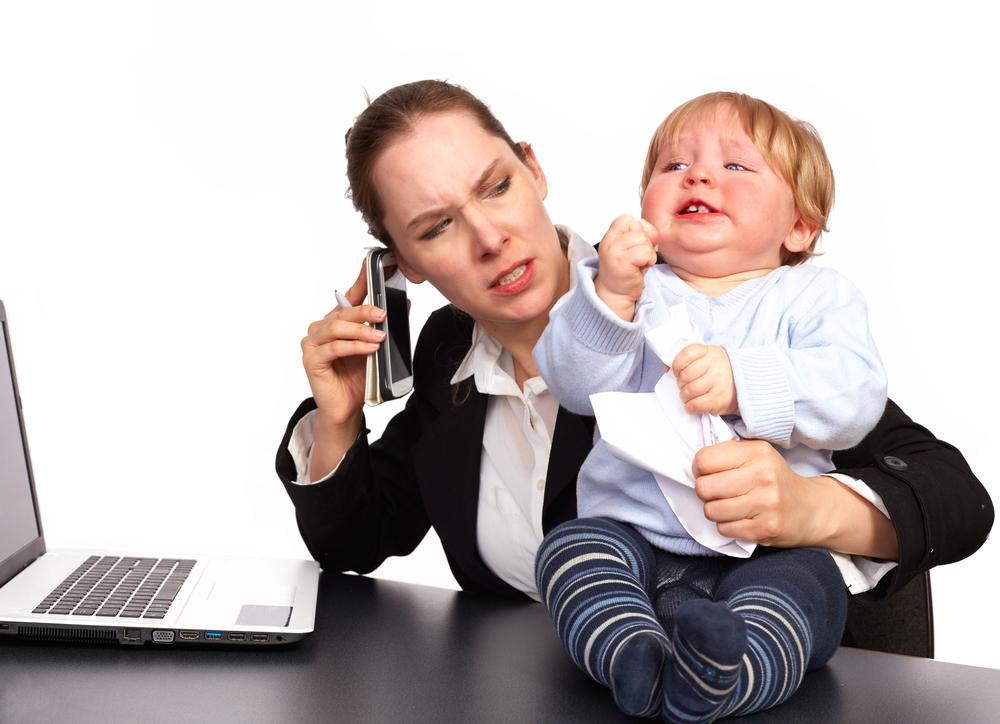 mama multitasking
