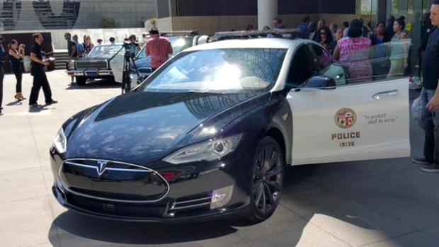 Los 'carrazos' del LAPD que patrullarán las calles de Los Ángeles