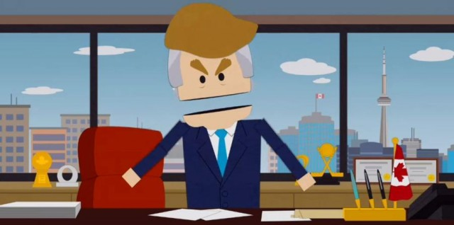 "Violan y matan brutalmente a Donald Trump en ""South Park"""