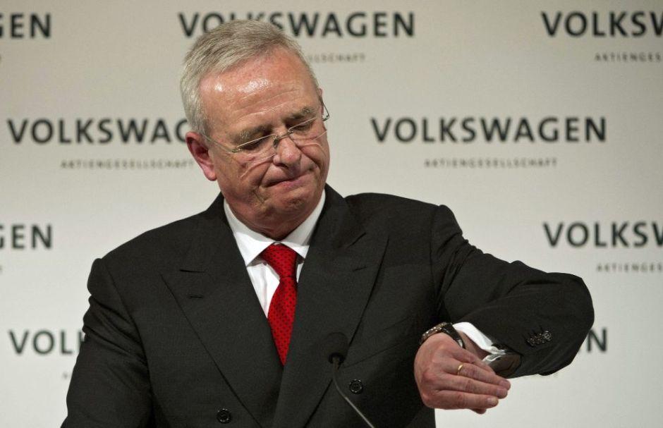 El gobierno de Estados Unidos demanda a Volkswagen y su ex-presidente, Martin WInterkorn, por fraude