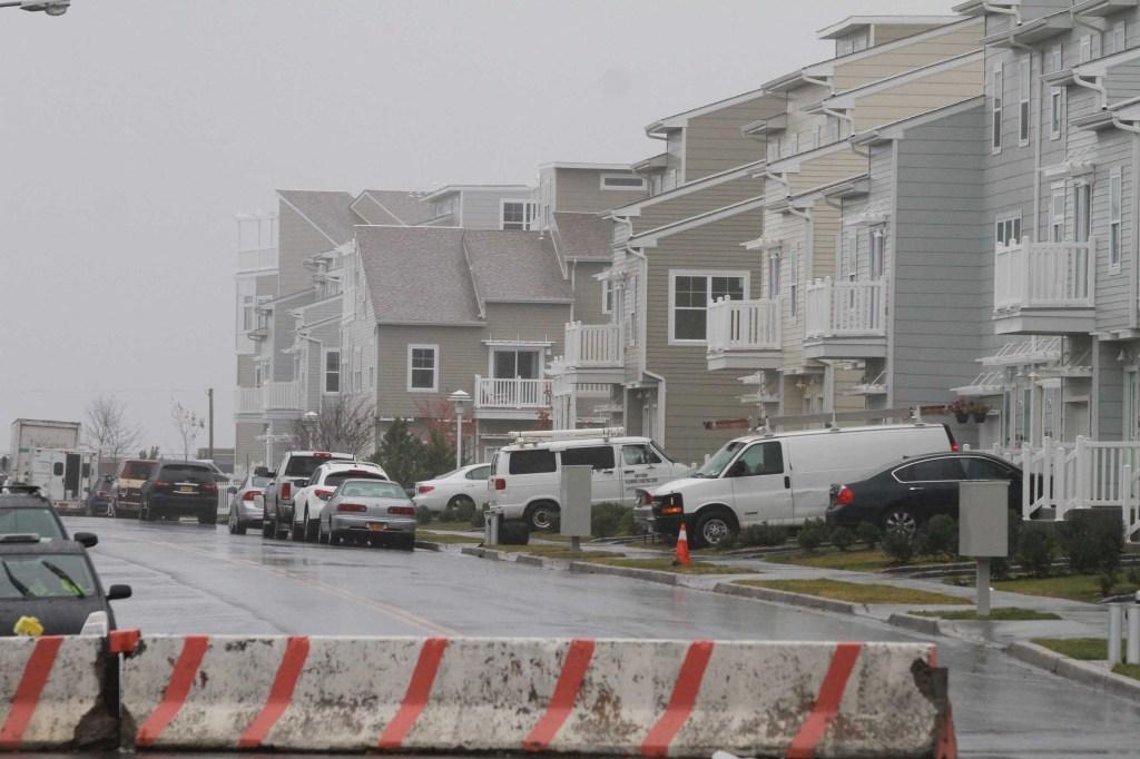 Far Rockaway hoy con todavia inundaciones.