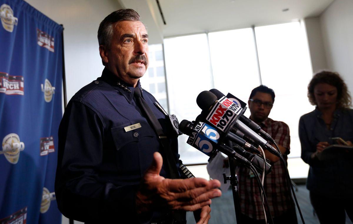 El jefe Charlie Beck habla sobre la detención en el caso de un video publicado en Instagram.