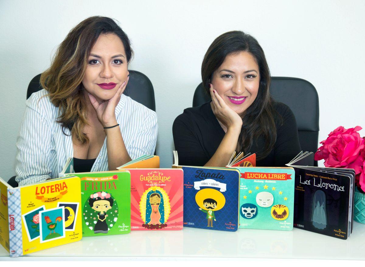 Patty Rodríguez y Ariana Stein, creadoras de Little Libros./Ciro César
