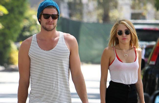 Miley Cyrus y Liam Hemsworth, ¿con planes de boda y viviendo juntos?