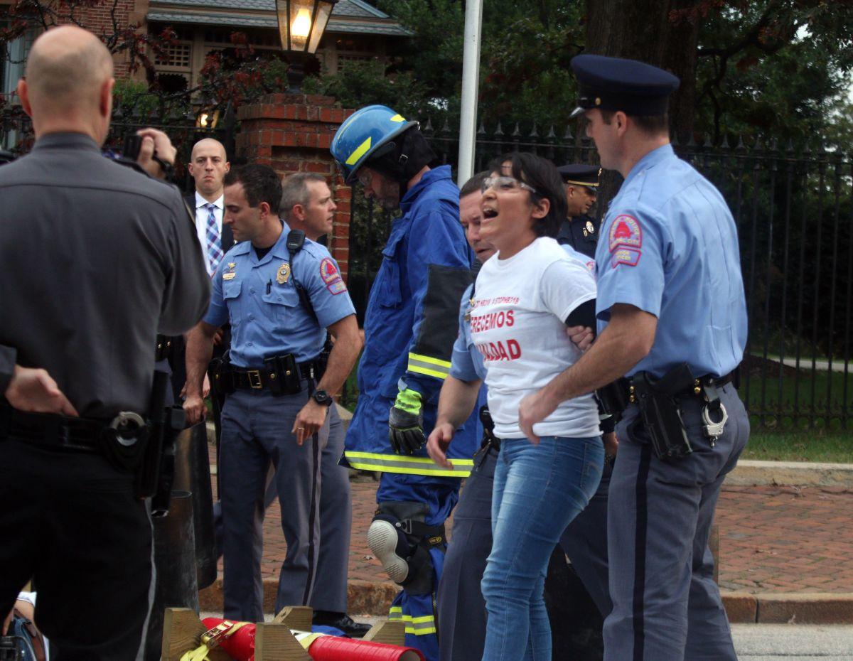 Carolina del Norte: Protesta por ley antiinmigrante  termina con arrestos