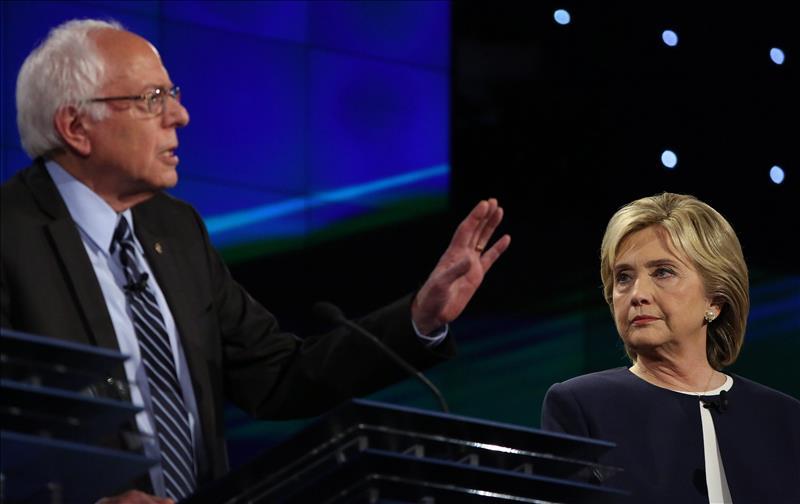 Hillary Clinton contra Bernie Sanders