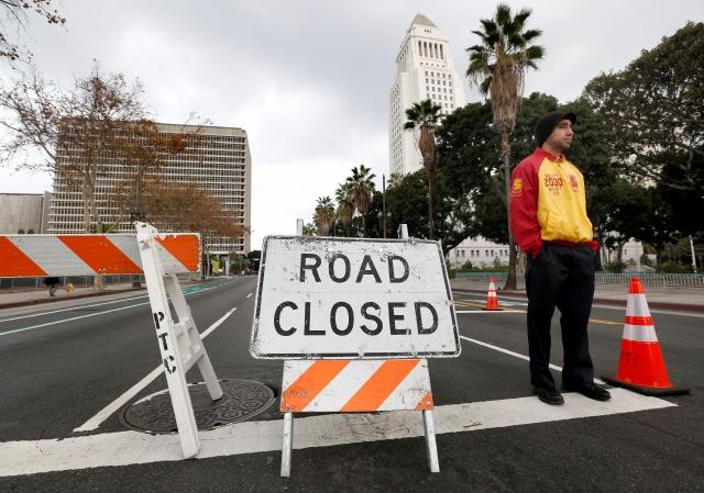 El LAPD ha anunciado cierre de calles.