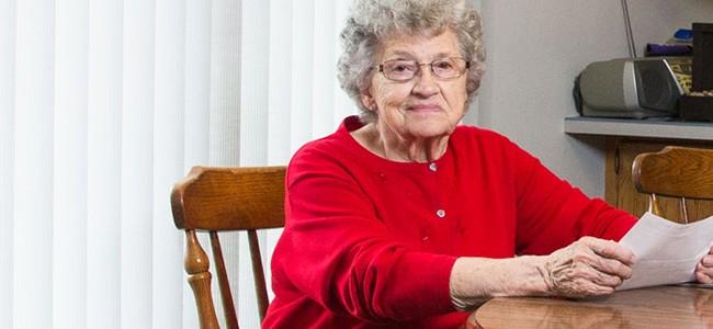Edna Schmeets esperaba darle el dinero de su premio a su familia.