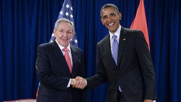 Obama y Castro se han visto dos veces este año.