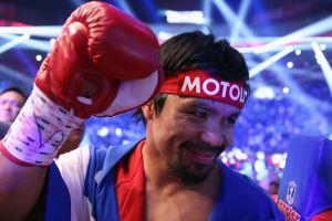 Manny Pacquiao podría pelear en los Juegos Olímpicos de Río de Janeiro