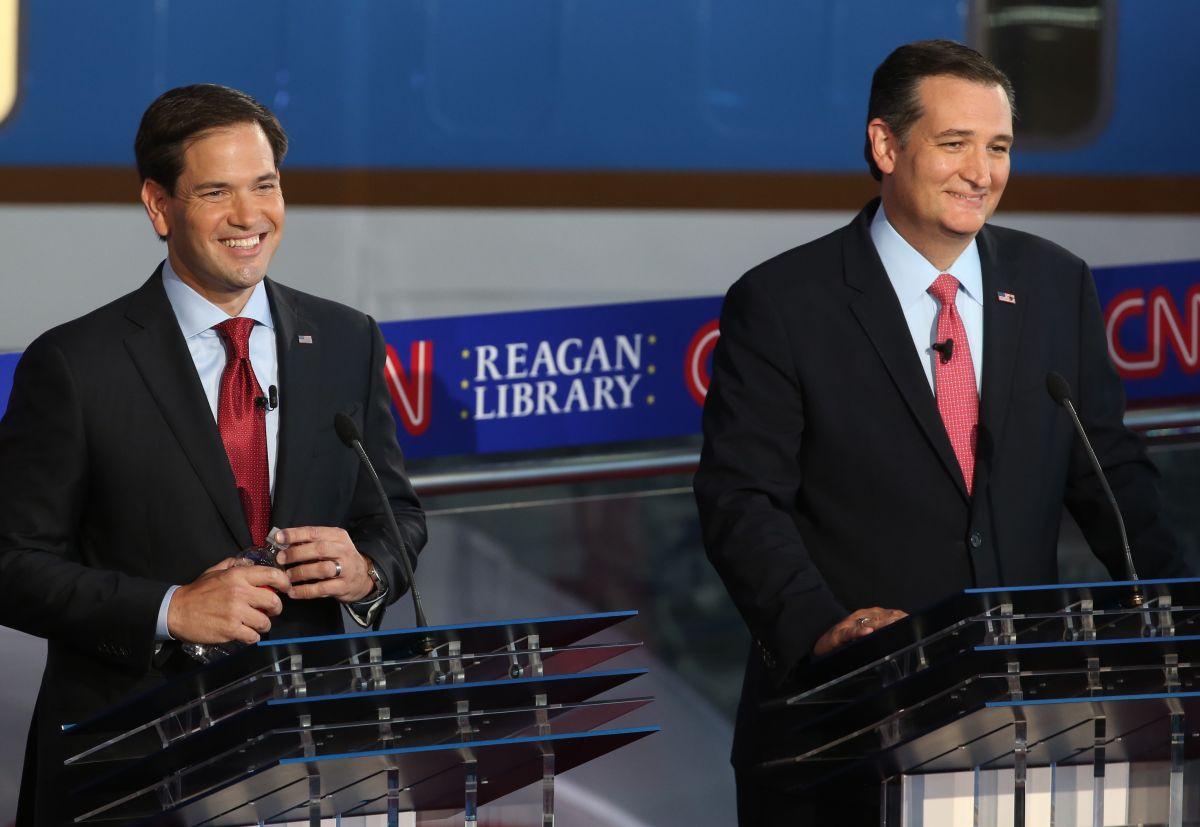 Rubio apoyaría a Ted Cruz como alternativa a Trump, no sería el único