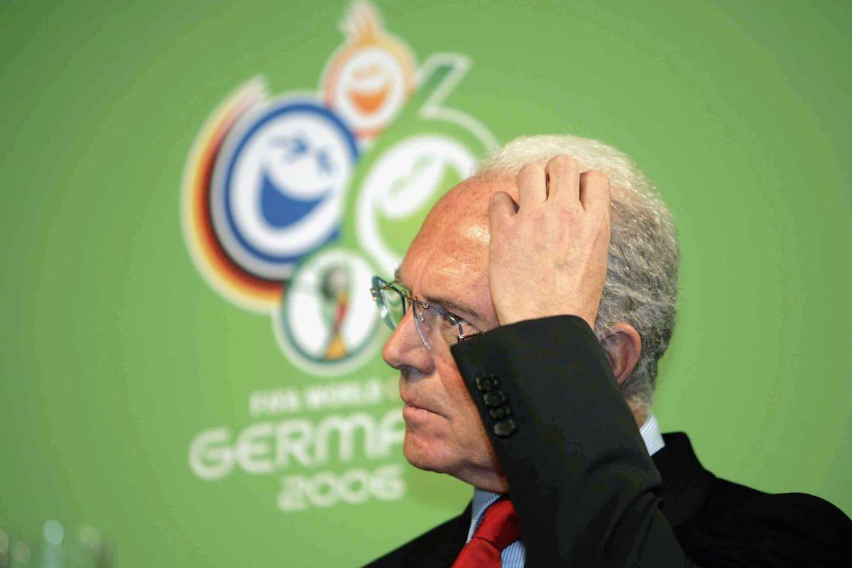 Alemania reconoce pago a la FIFA pero niega compra del Mundial de 2006