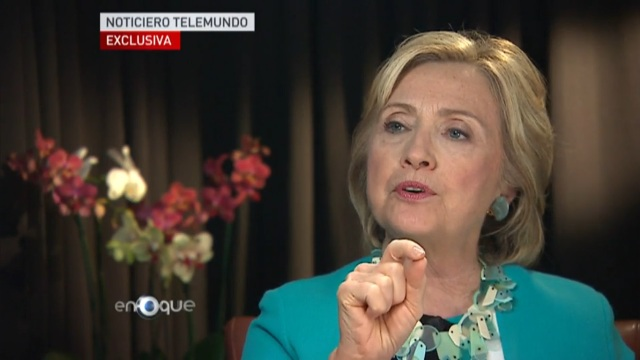 Hillary Clinton promete frenar deportación de padres y separación de familias (VIDEO)