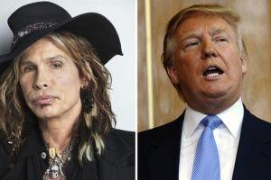 Steven Tyler prohíbe a Trump usar canción de Aerosmith en su campaña